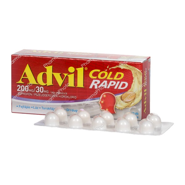 Advil Cold Rapid 200 mg30 mg kapszula 20x653894 2017 tn