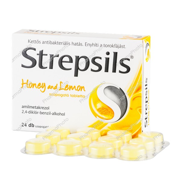 Strepsils Honey and lemon tabletta 24x205444 2016 tn